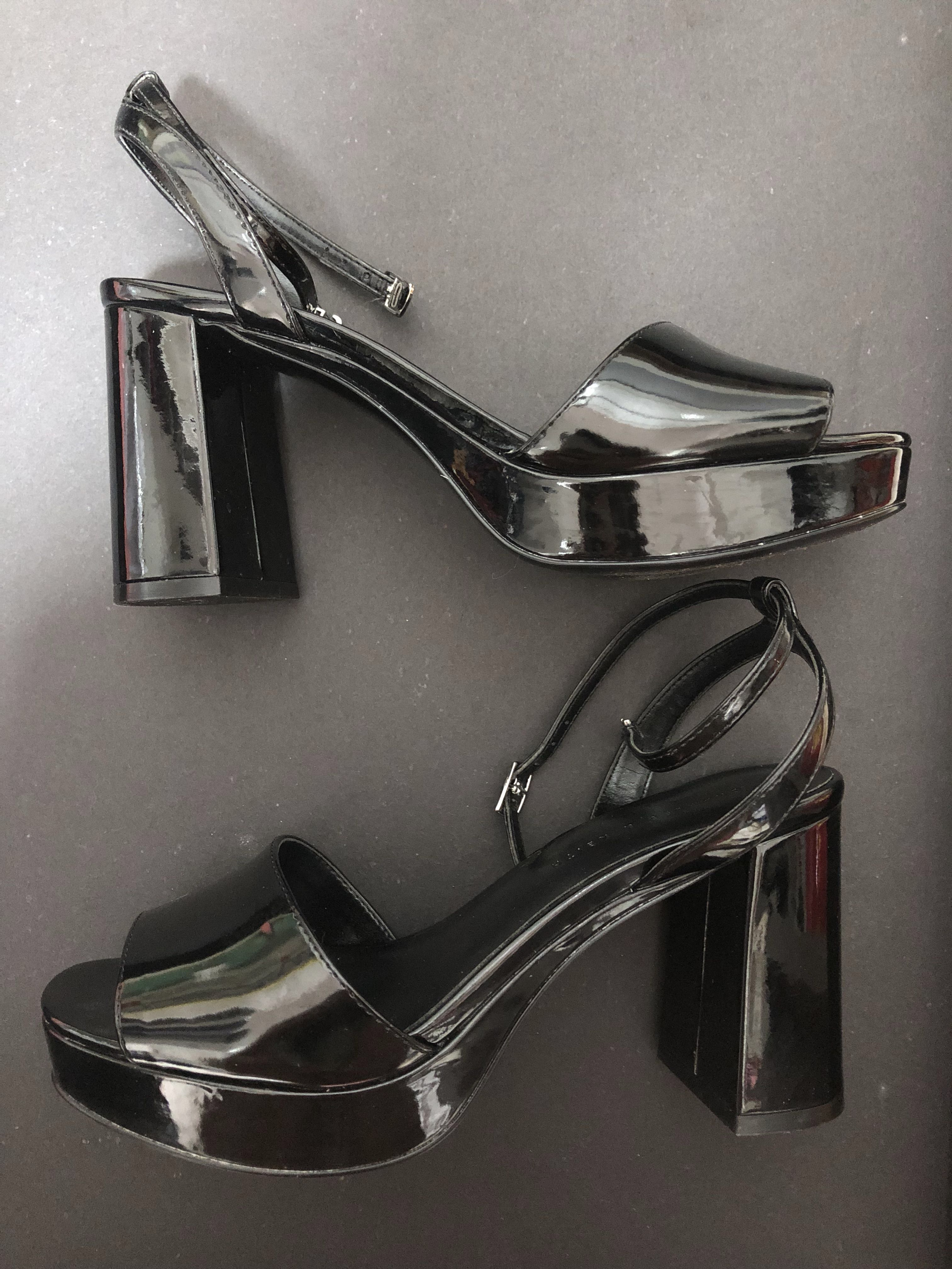 eaa9e8c4feec Charles   Keith Heels   Platform   Open Toes   Ankles Strap