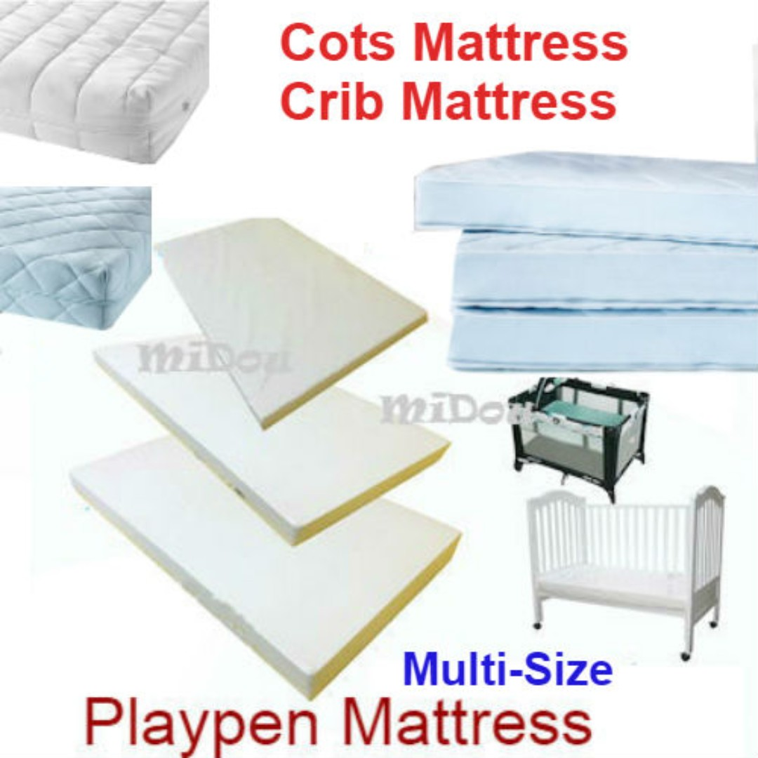 customize baby cot mattress and playpen / new brand / any size on