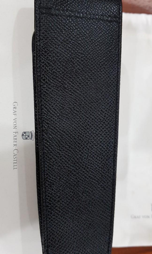 Graf Von Faber Castell 2 pen pouch excellent condition