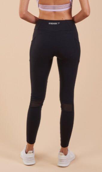 568c5695fc2f1f GYMSHARK Sleek Aspire Leggings XS, Sports, Sports Apparel on Carousell