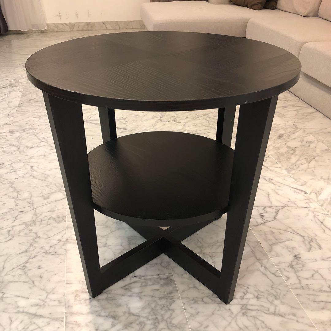 check out d35e4 63a61 IKEA Vejmon Side Table, Furniture, Tables & Chairs on Carousell
