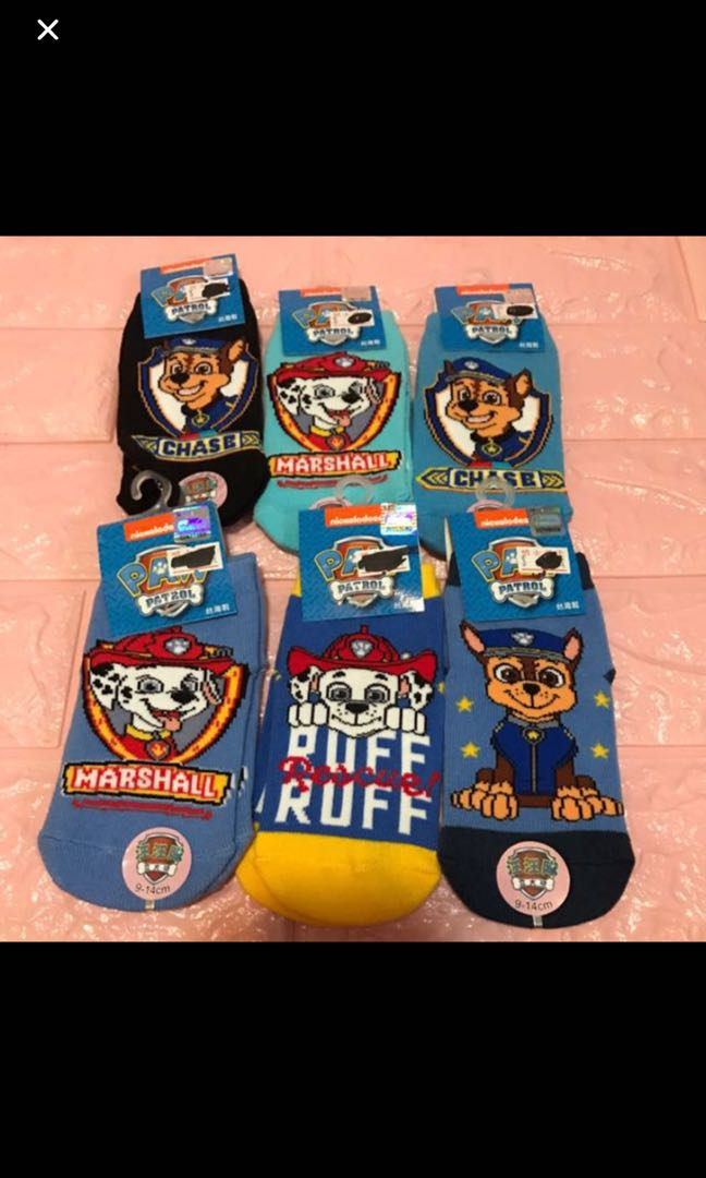 34f670be2fc7b Instock authentic paw patrol anti slip kids sock brand new size for ...