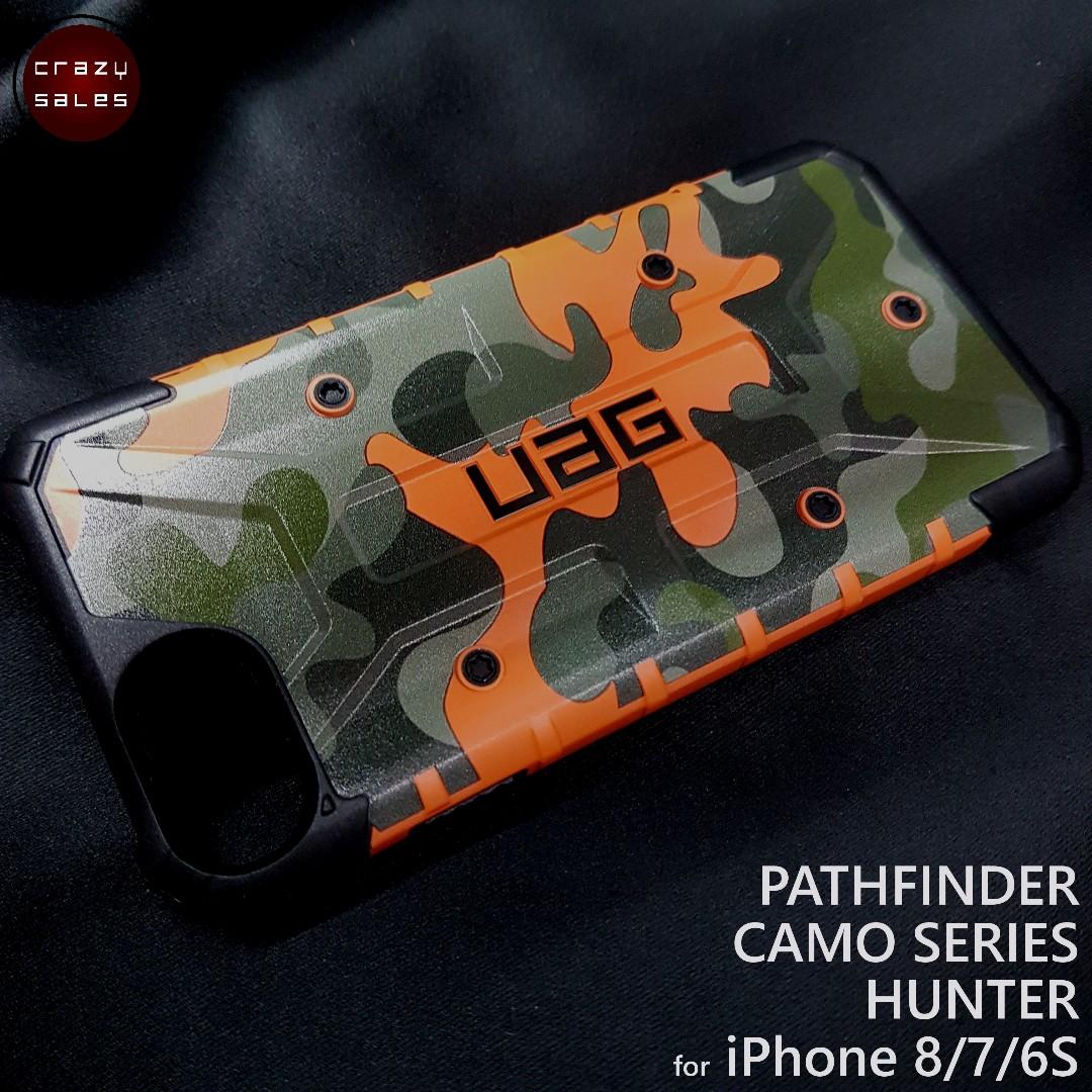 brand new caedc 3aef7 iPhone 8 / 7 / 6S UAG Pathfinder HUNTER CAMO Series Case