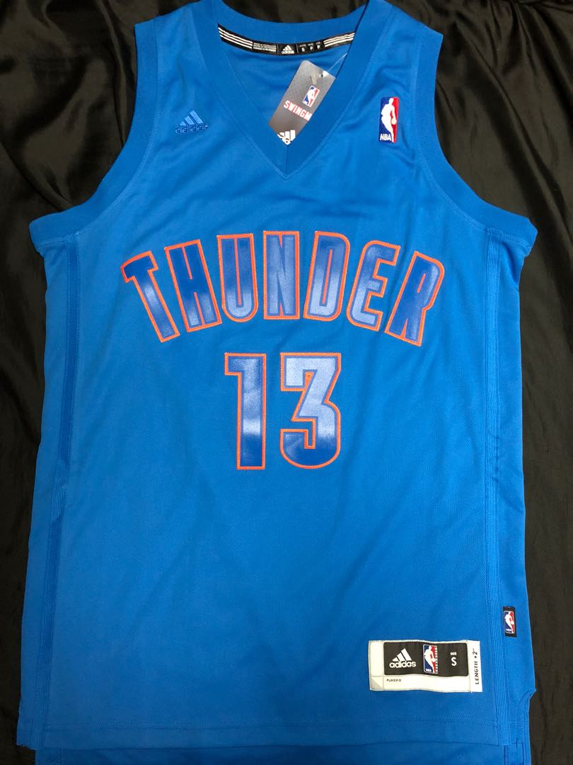 sports shoes 07fbb fd2b8 James Harden OKC thunder Xmas jersey