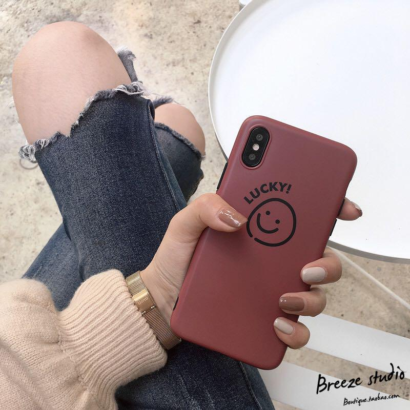 Lucky smile iPhone Case