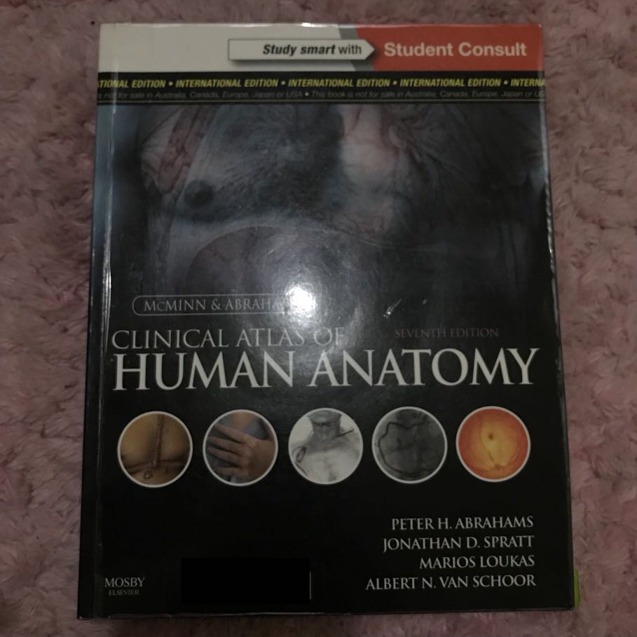 Mcminn Clinical Atlas Of Human Anatomy Books Books On Carousell