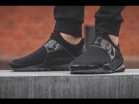 Nike Sock dart triple black, Men's