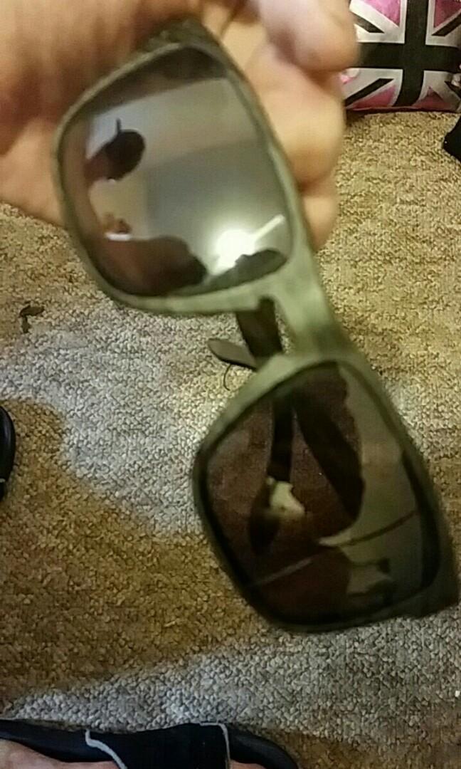 93cd1ae19ac ... coupon code for oakley holbrook sunglasses woodgrain frame prizm daily  polarized lens oo9102 b7 mens fashion