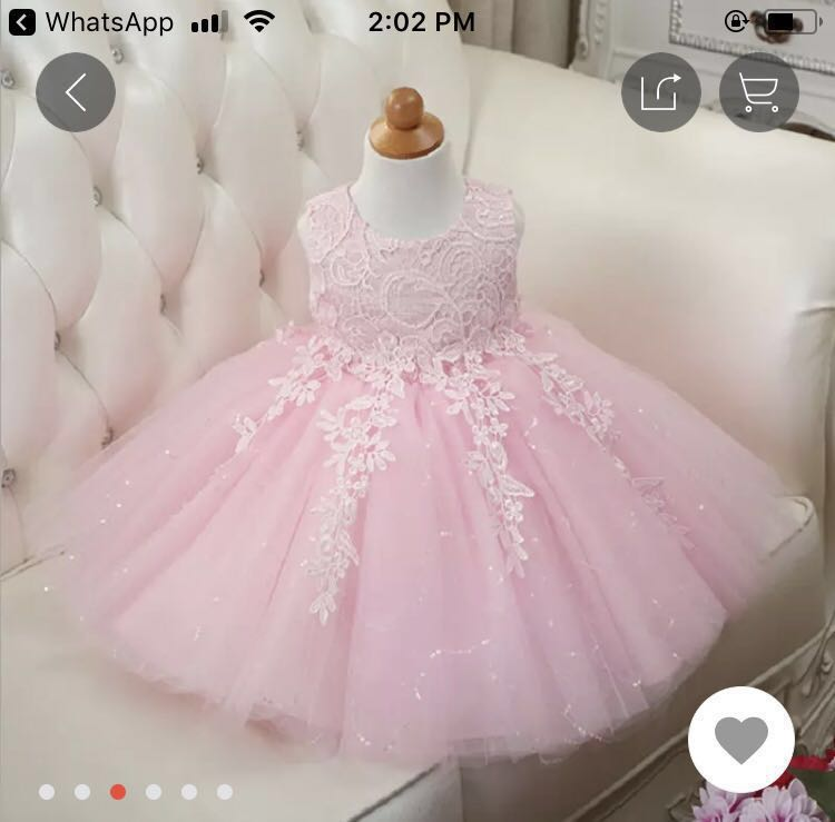 1b893d927 Pink Tutu Dress (Baby Girl Birthday Dress) for 1 years old