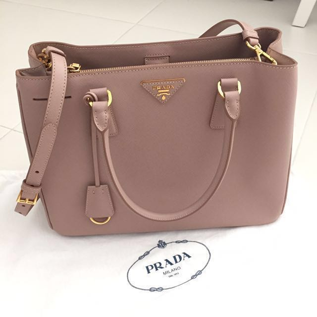 41c88d92462d ... official store prada saffiano lux tote medium cammeo womens fashion bags  wallets on carousell 4fa5b 621ef