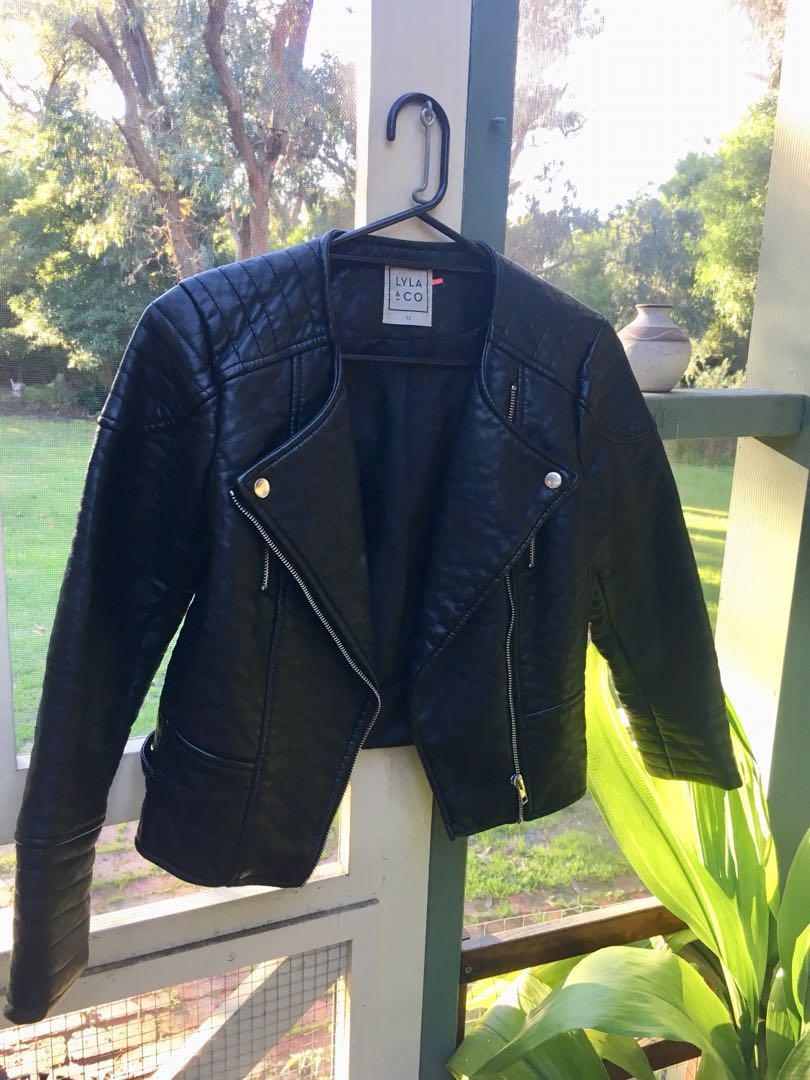 Pu Leather Jacket