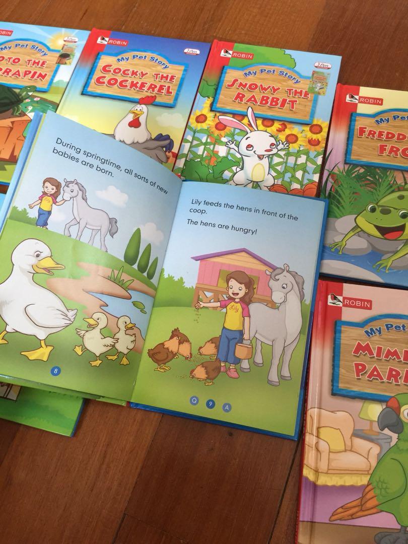Robin books- my pet story series (10 books)
