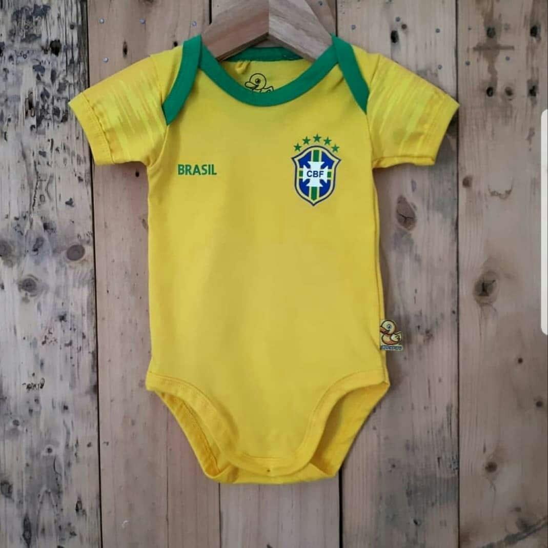 34e03f0f6861 Russia Fifa world cup baby romper(Brazil)
