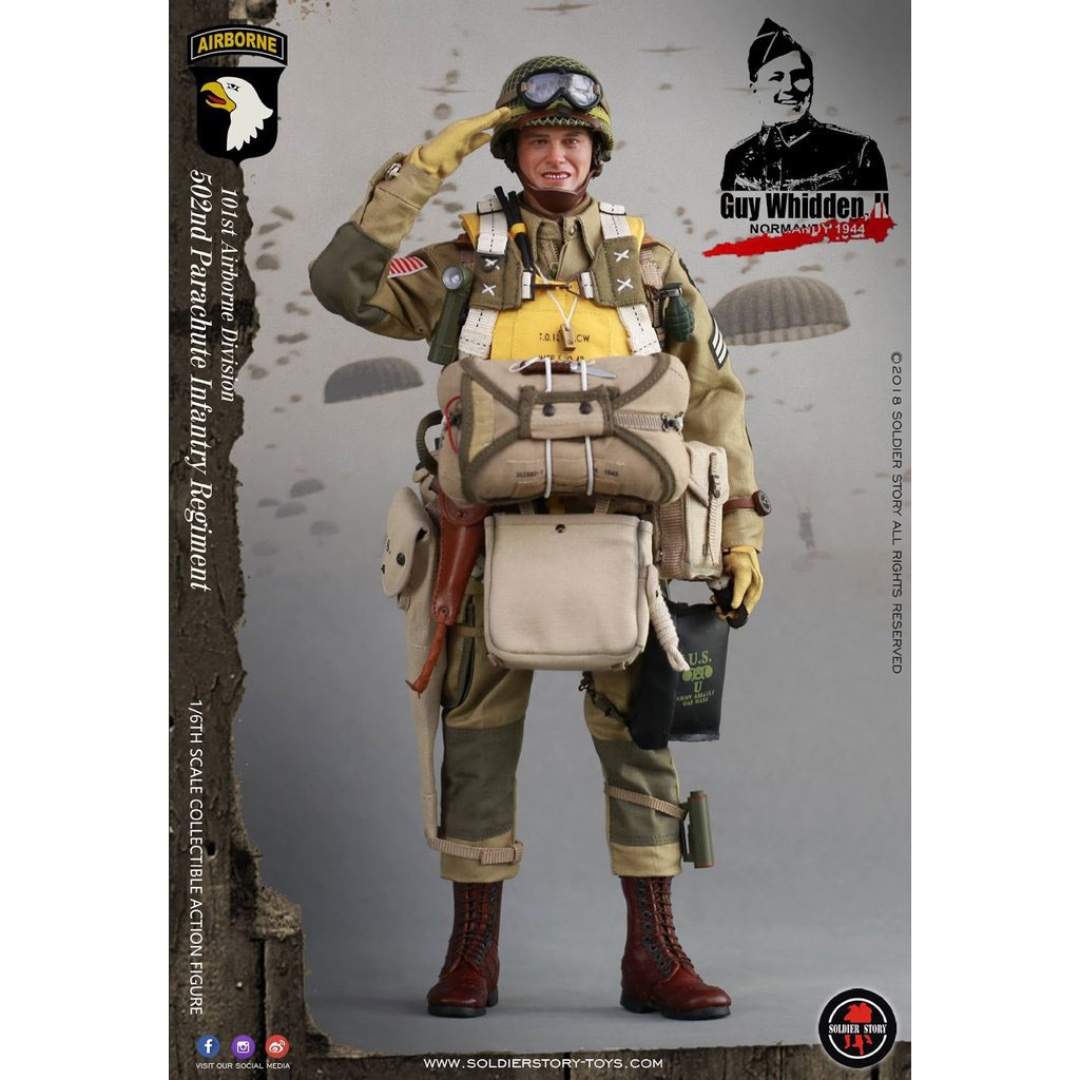 Soldier Story Wwii 101st Airborne Division Guy Whidden Ii 1 6 Scale Toys Games Bricks Figurines On Carousell
