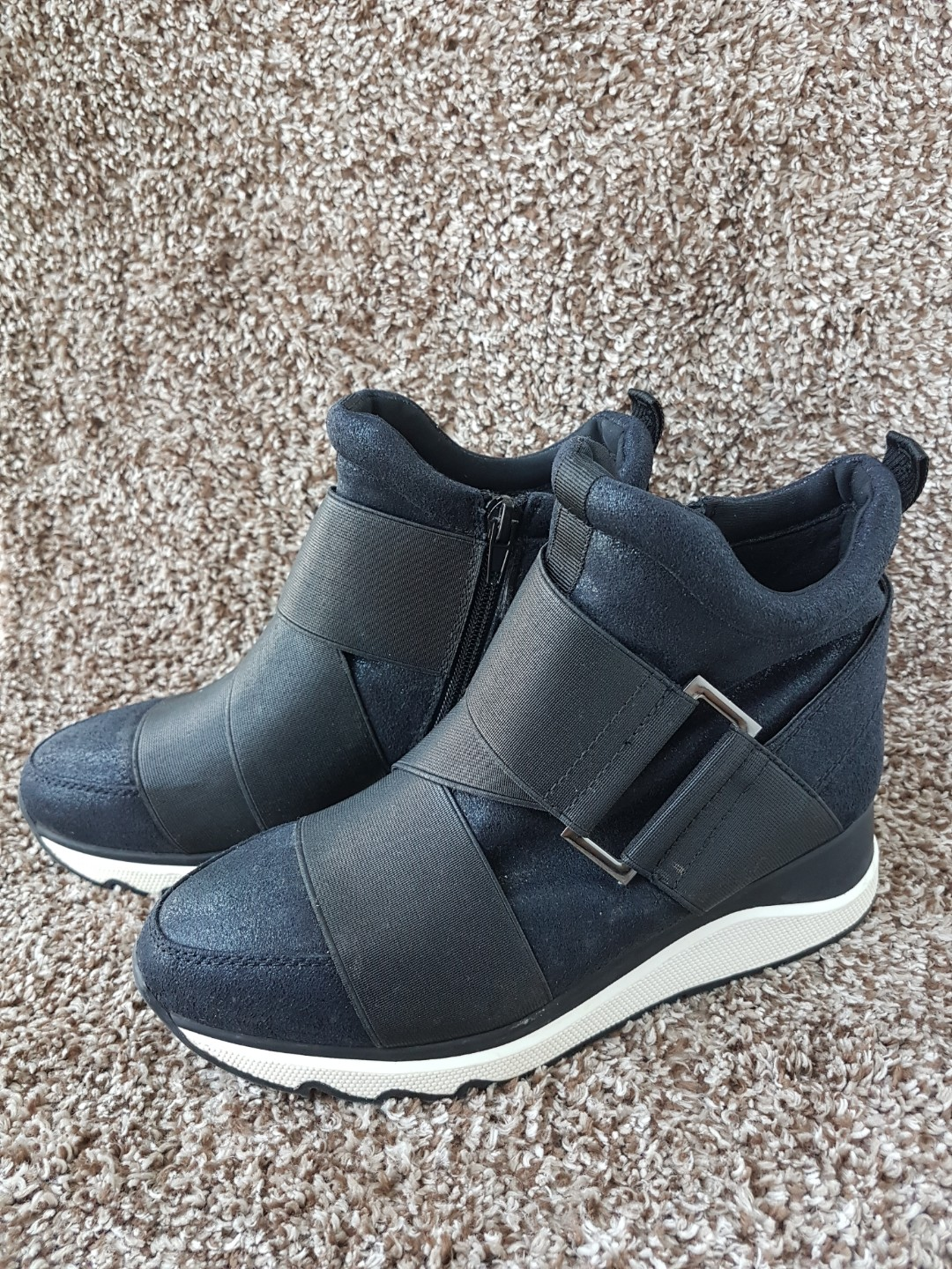 Staccato Leather Boots Wedges 74760147a5
