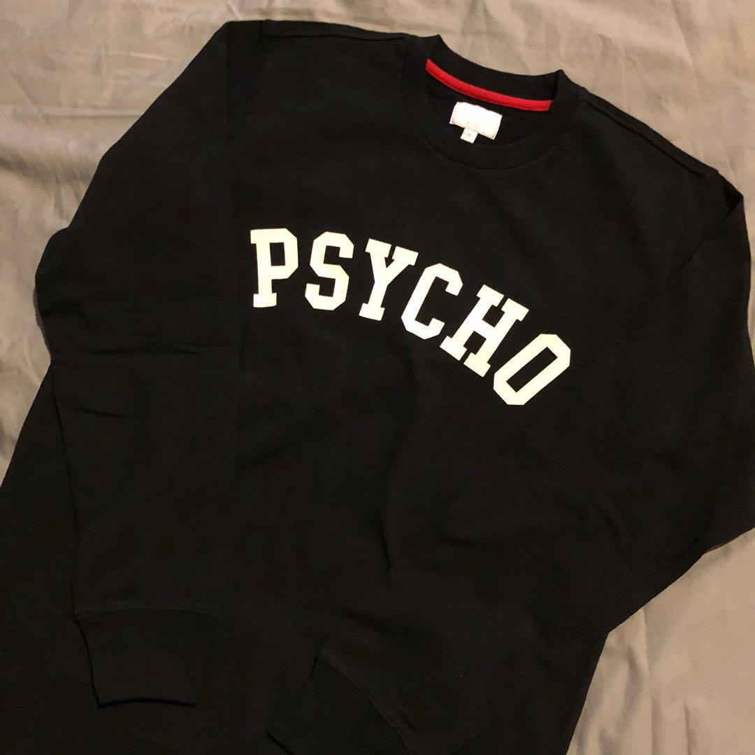 Supreme Psycho L/S Tee, Men's Fashion, Clothes, Tops On Carousell