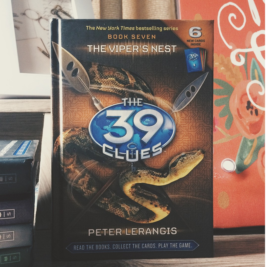The 39 clues 7 the vipers nest peter lerangis books books on photo photo photo fandeluxe Gallery
