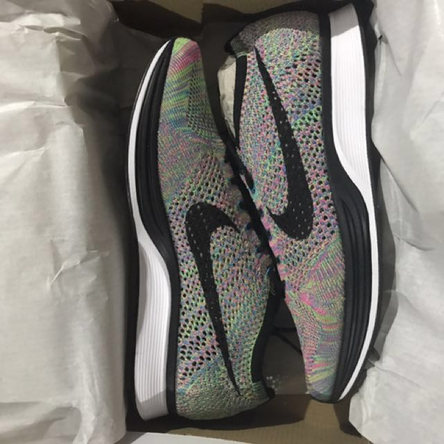 more photos 6f82f cf527 US9 Flyknit racer MC v 2.0, Men s Fashion, Footwear on Carousell