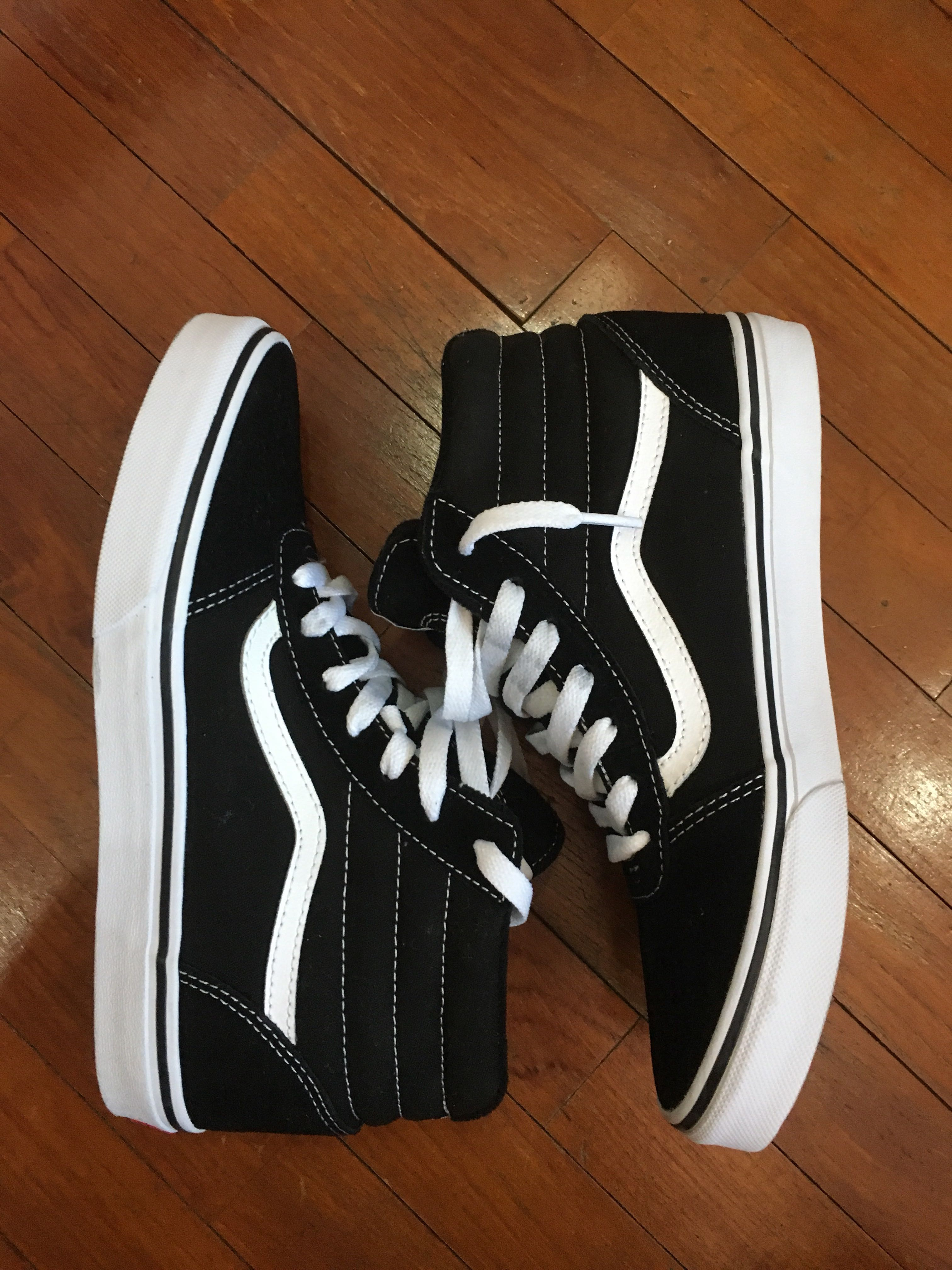 20270c6432 Vans Old Skool High Top Trainers, Women's Fashion, Shoes, Sneakers ...