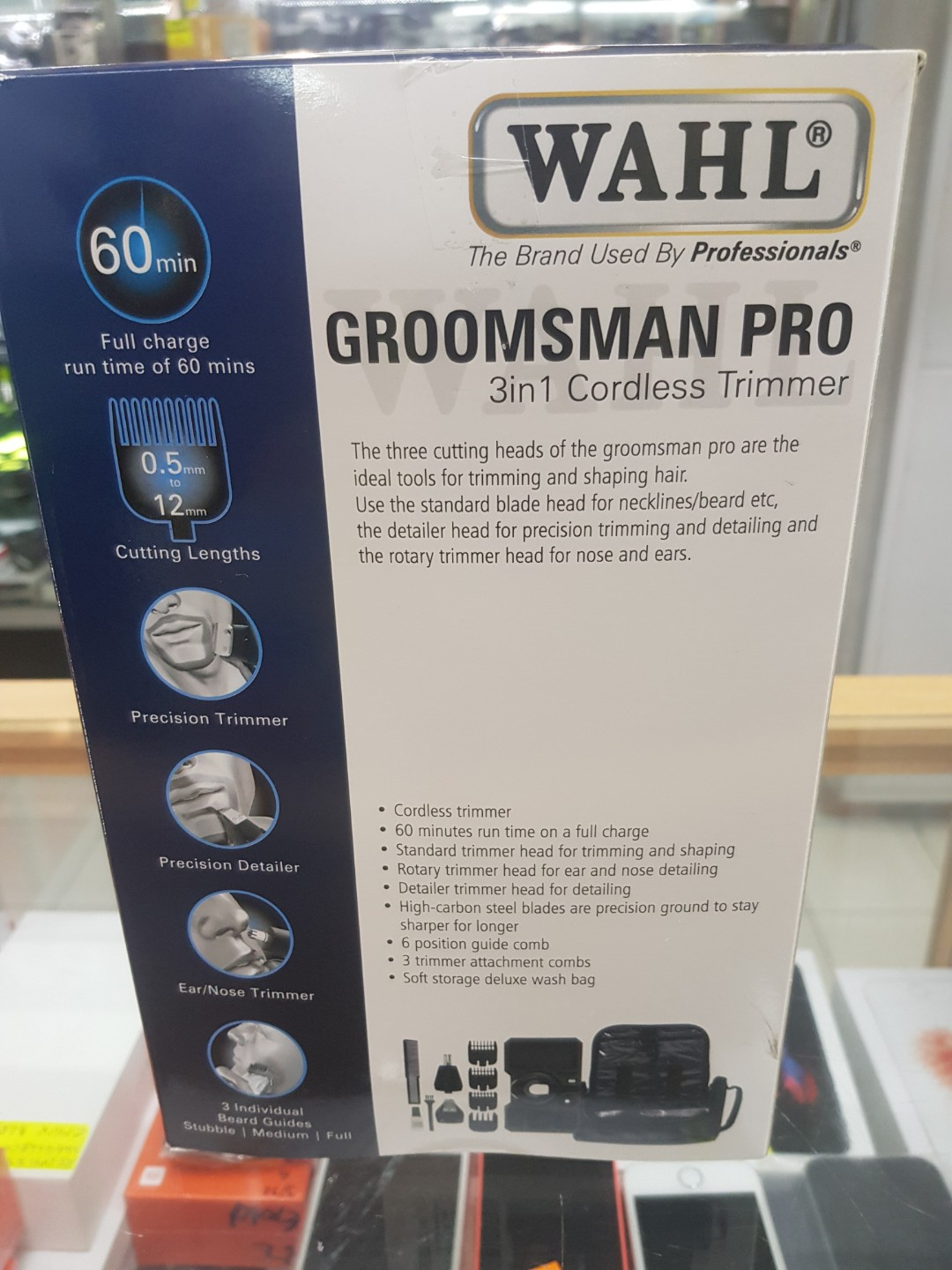 WTS: Wahl Groomsman Pro 3 in 1 Cordless Trimmer, Health & Beauty, Men's Grooming on Carousell