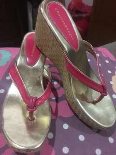 wedges pink NEW