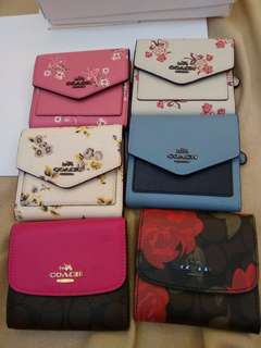 Coach Short Wallet original coach