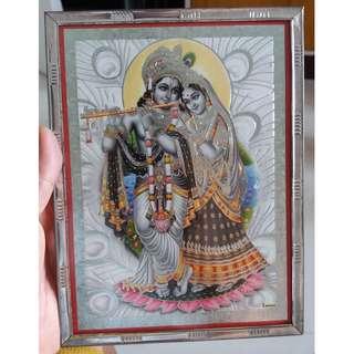 Indian Picture/Image (Framed) (Foil)