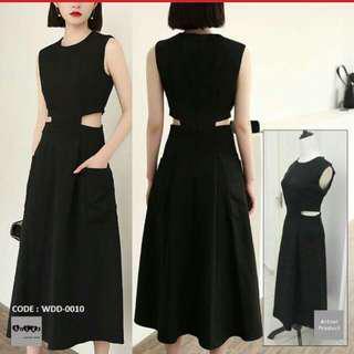 BN Black Midi Dress