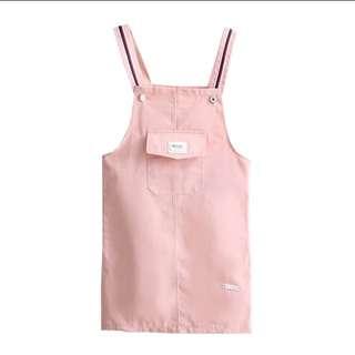 🚚 清新粉色吊帶裙#畢業一百元出清