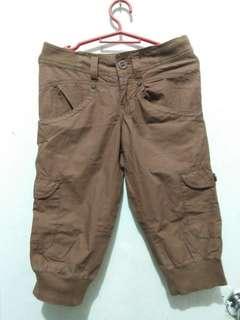 Brown Tokong Shorts
