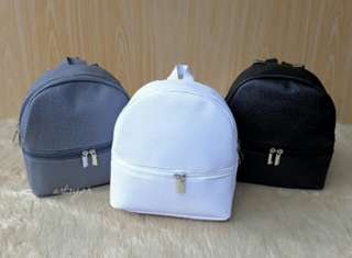 Mikee Leather Backpack (8x7x3)