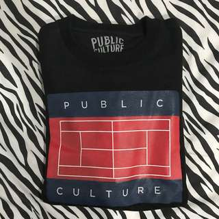 Public culture crewneck sweater black size l