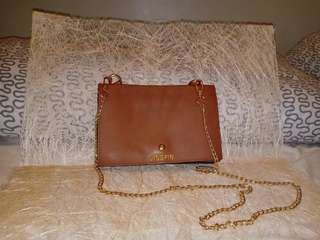 Brown Sling bag with chain sling, Never been used
