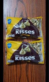 HERSHEY'S KISSES ALMOND 311g