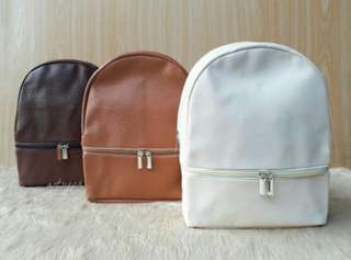 Mikee Leather Backpack (11x8x4)