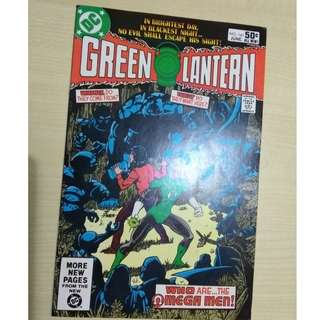 Green Lantern Vol 2. # 141 - 1st appearance Omega Men