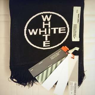 Off-White temperature scarf 頸巾 (150cm)