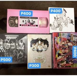 KPOP ALBUMS FOR SALE (EXO, SNSD, RV, FX)