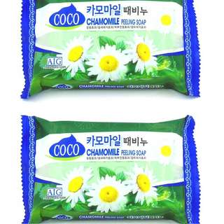 Korea's Finest Skincare Coco Chamomile Peeling Soap 320g