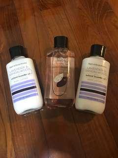 Brand new! Bath & Bodyworks Shower gel, Body Lotion
