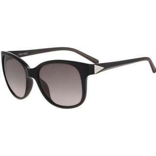 Nine West Wayfarer Black Women Sunglasses