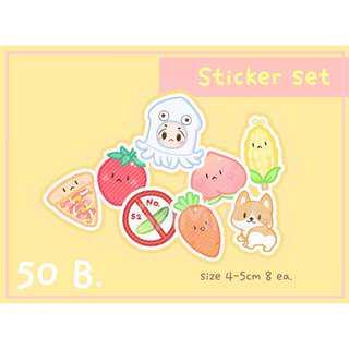 CLOSED || [SG GO] Sticker & Postcard Set