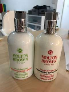 Molton brown hand and body lotion