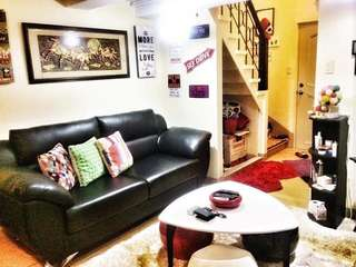 Own this 1-2BR Loft Type Condo Unit here in Pasig City Fully Furnished 09239708448