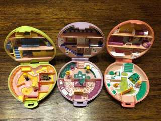 Polly Pocket 1989 vintage collection