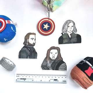 Avengers Infinity War Stickers - Stickyrella