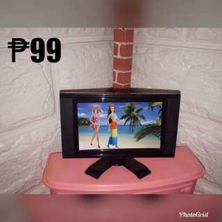 Flat screen tv for barbie
