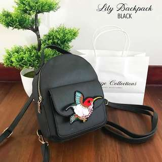 Lily Backpack/Sling Bag FREE SF