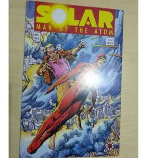 Solar, Man of the Atom Vol. 1 #3 - 1st appearance Harada and Eggbreakers