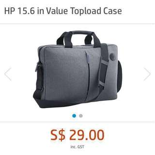 HP 15.6 Notebook Laptop Topload Carrying Case Bag